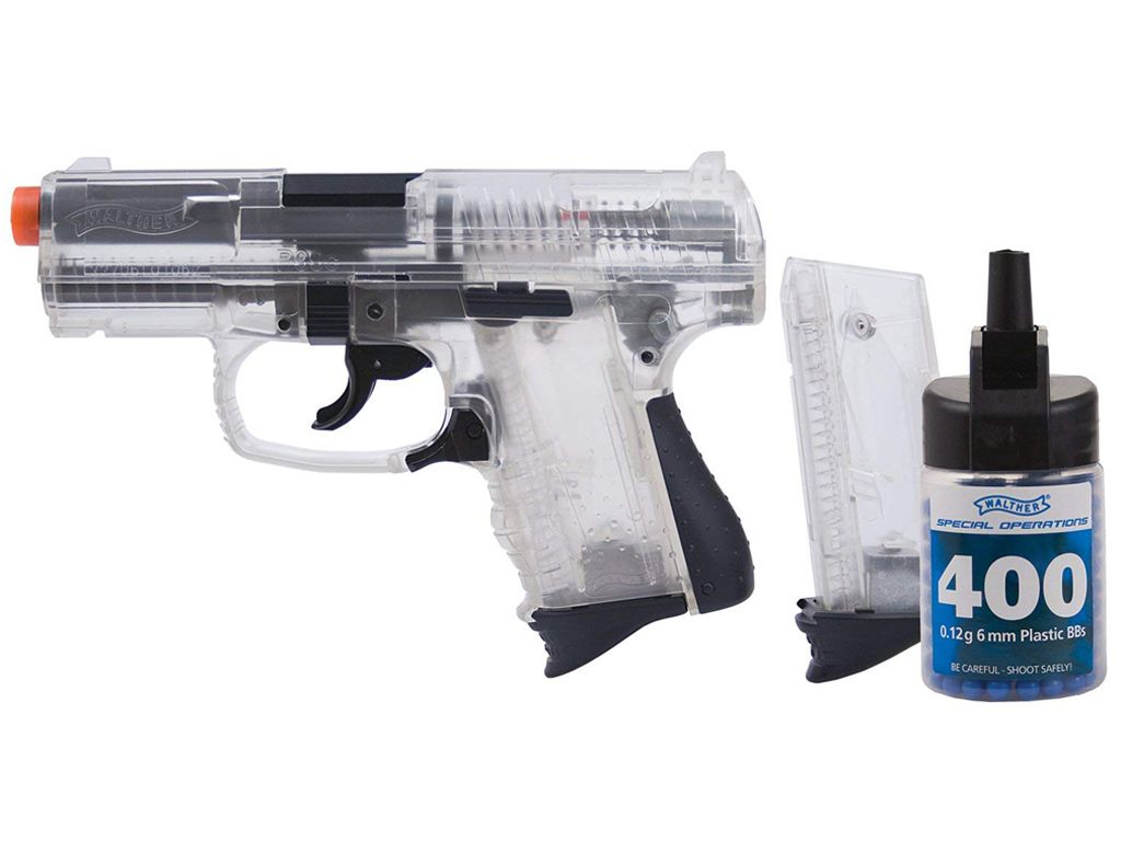 Umarex Walther P99 Clear Compact Spring NBB Airsoft Pistol