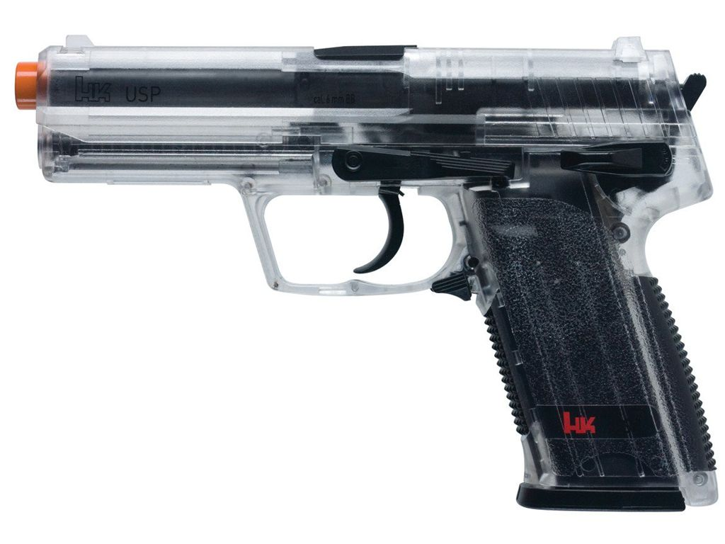 Umarex Heckler and Koch Clear USP Spring NBB Airsoft Pistol