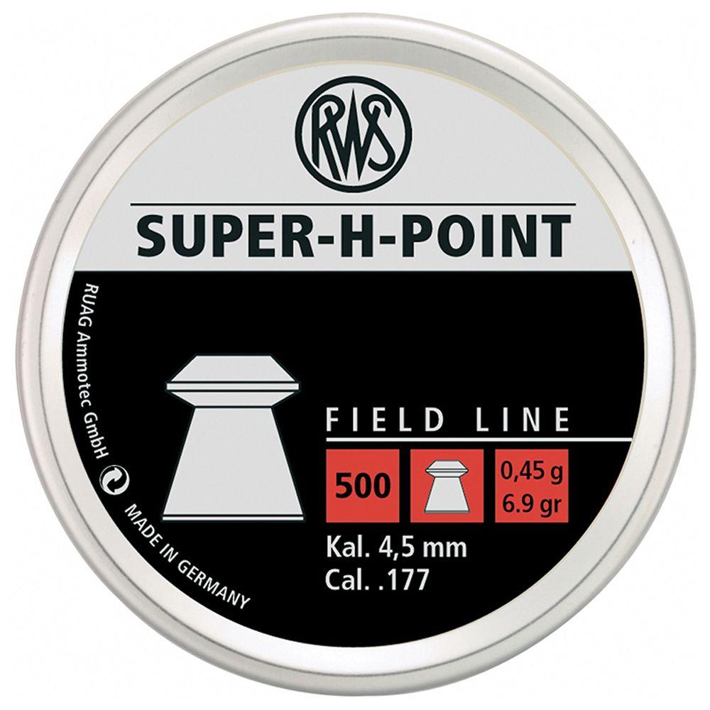 RWS Super H-Point 0.45 .177 Cal Pellets 500-Pack
