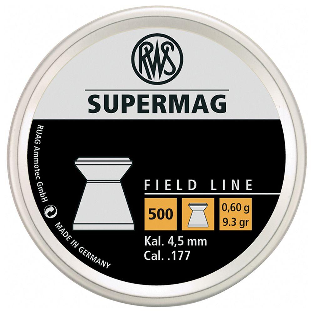 RWS Supermag 0.60 .177 Cal Pellets 500-Pack