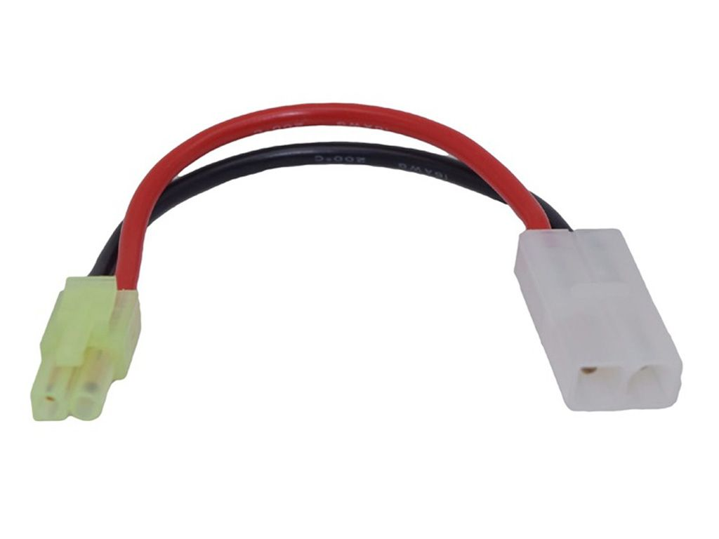 Large Female to Small Male AEG Battery Wire Cable