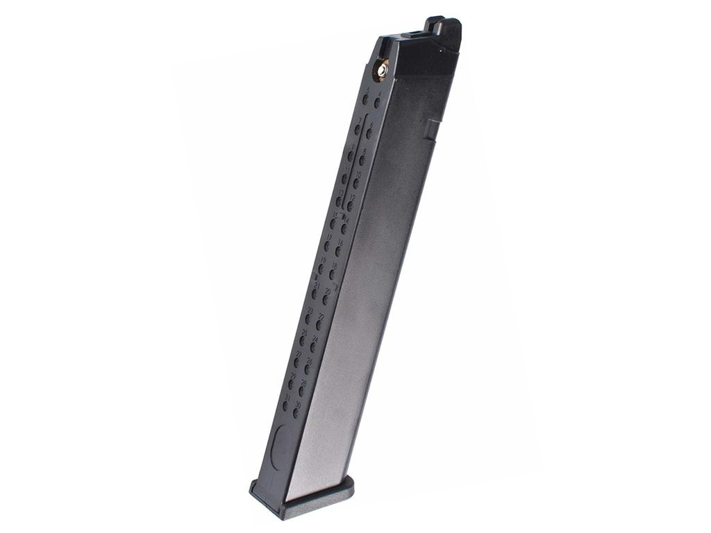 WE Glock G Series 50rd Extended Airsoft Magazine