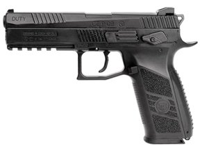 CZ 75 P-09 Duty Blow Back Pellet Pistol Black