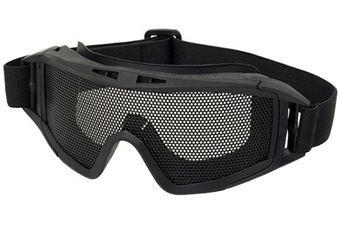 Steel Mesh Lens Tactical Goggles