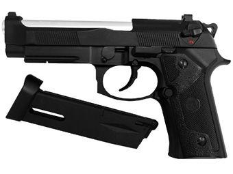 KJ Works M9 Elite IA Full Metal CO2 Blow Back Airsoft Pistol