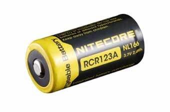 Nitecore NL166 RCR123A Li-Ion Battery