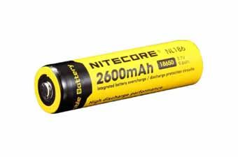 Nitecore NL186 18650 Li-Ion Battery