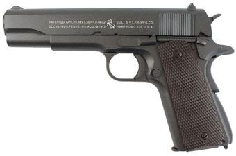Colt 1911 CO2 Blowback Full Metal Airsoft Pistol