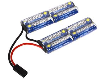 Palco 9.6V- 2000 Mah Double Twin Intellect Battery
