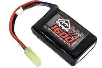 7.4V 1600mAh 20C LIPO AEG PEQ Battery