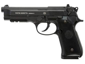 Beretta M92 A1 .177 BB Pistol Black