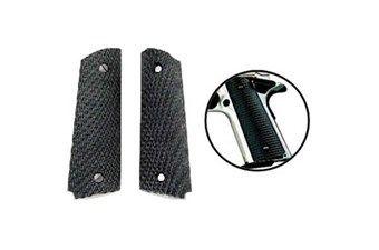 Colt Black Plastic Grips For Goverment Model 1911