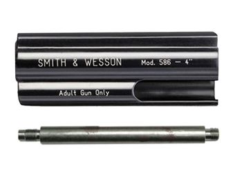 Smith & Wesson 4 Inch Matte Black Barrel System