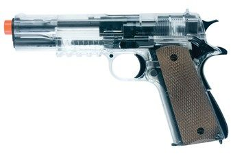 Colt Combat Zone Stryker Clear Airsoft Gun