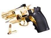 Dan Wesson CO2 2.5 Inch Gold Airsoft Revolver