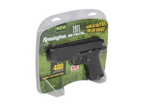 Crosman Remington 1911 CO2 Powered Semi-Automatic BB Pistol - Black