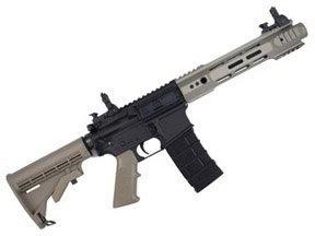 KJW M4 RIS-3 V3 C8 Green Gas Blowback Airsoft Rifle