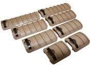 Ergo Rail Cover Ribbed Panels (8 Piece Set)
