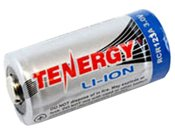 Tenergy Li-Ion (4) RCR123A 600mAh Kit w/Smart Charger & Car Adapter