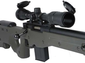 Tokyo Marui L96 AWS Spring NBB Airsoft Rifle w/ Bull Barrel